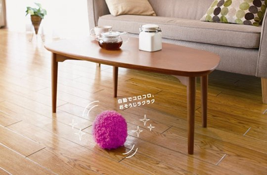 Attractive The Mocoro Robotic Fur Ball Vacuum Cleaner Rolls Around On The Floor Like A  Roomba But Is Different Because Itu0027s Cuter, More Of A Battery Powered Dust  Mop ... Great Pictures