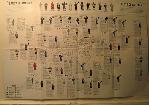 Gangs of America vs. Cults of America