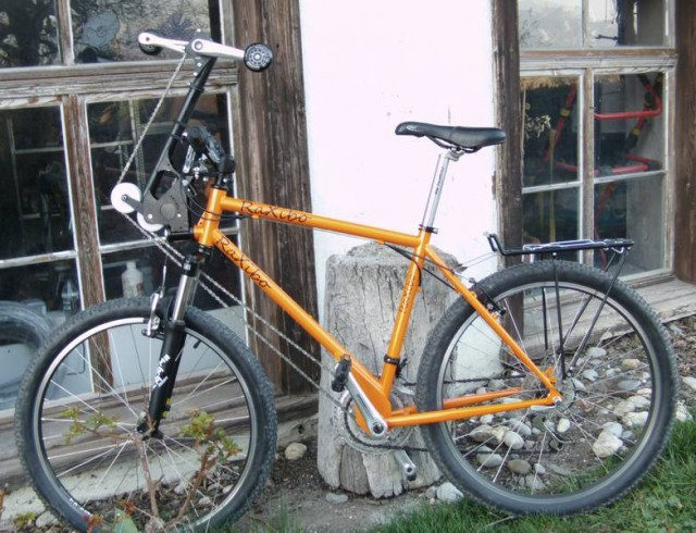 Raxibo bicycle with foot and hand pedals