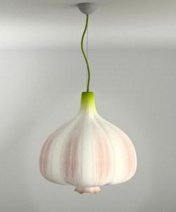 Garlic Lamp by Anton Naselevets