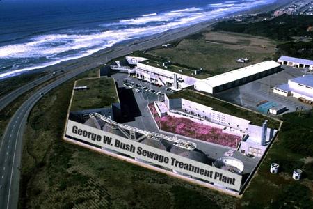 George W Bush Sewage Plant