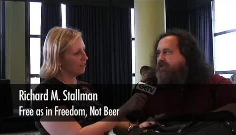 GETV & Richard Stallman