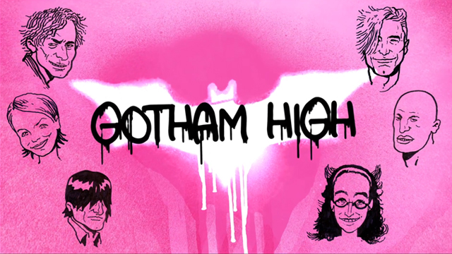 Gotham High (2013) Dark Knight Batman PARODY! by MOVIECLIPS