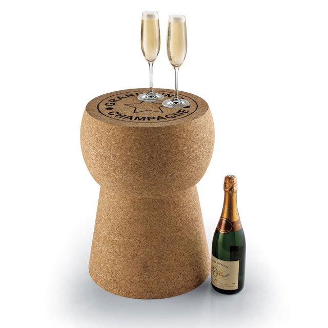 Giant Champagne Cork Table