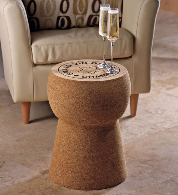 Oversized Champagne Cork Table