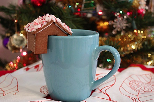 Gingerbread House Mug