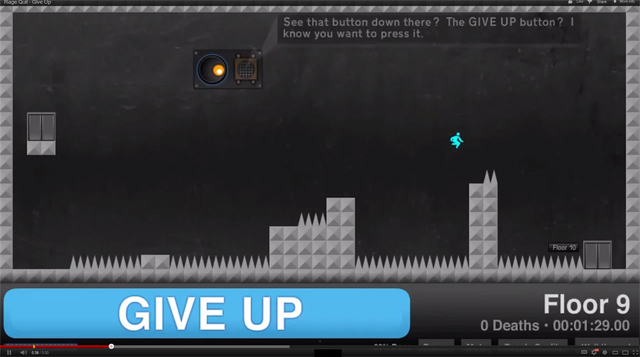 Give Up - Armor Games