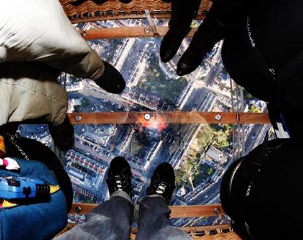 The World's First Glass-Bottomed Hot Air Balloon