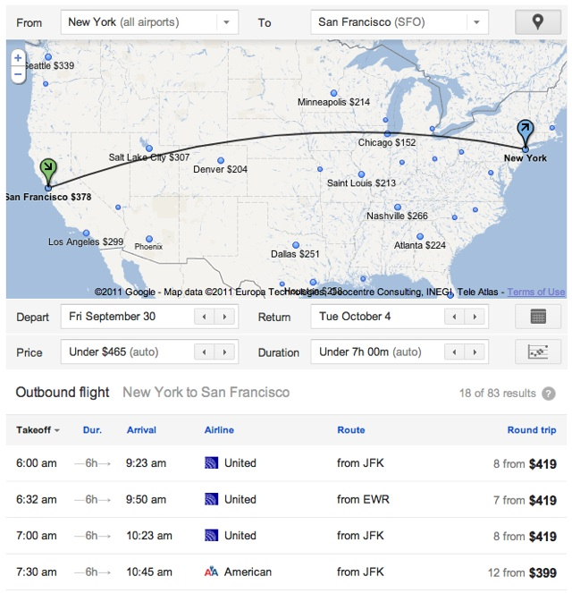 google-flight