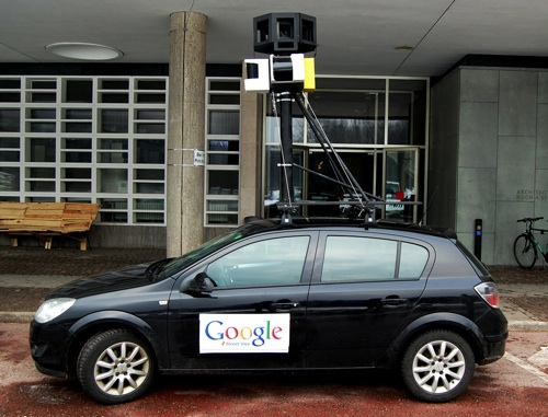 How to Build a Fake Google Street View Car