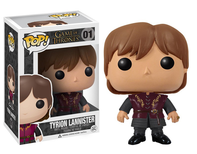 Game of Thrones Tyrion Lannister Pop! Vinyl Figure