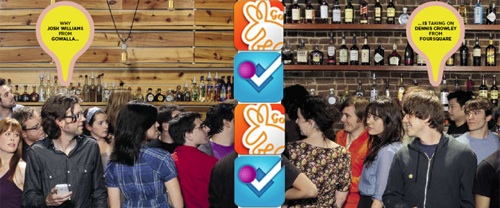 Gowalla vs. Foursquare