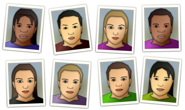 Grow a Face, A Random Face Generator