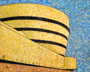 MetroCard collages by Nina Boesch