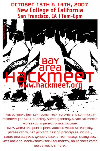 Bay Area Hackmeet: Tech, Activism, Art & Community