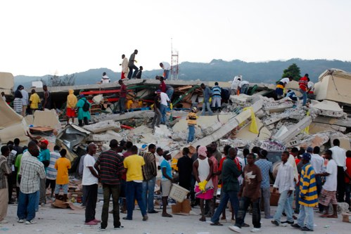 Haiti earthquake damage Death