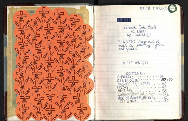 Keith Haring's Journals (1978-1982)