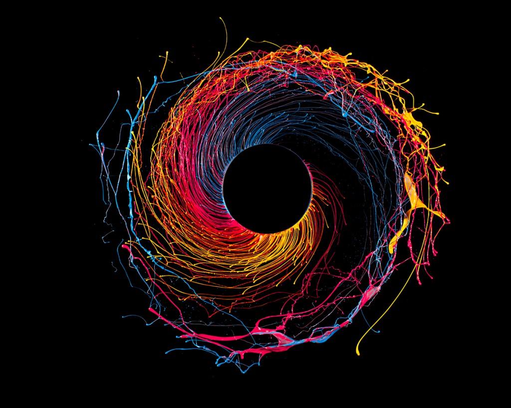 Black Hole by Fabian Oefner