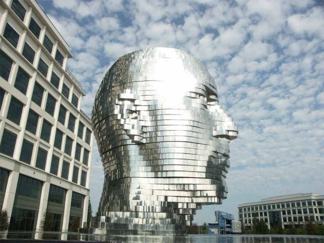 Metalmorphosis by David Cerny