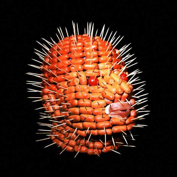 Anatomical food sculptures by Dimitri Tsykalov
