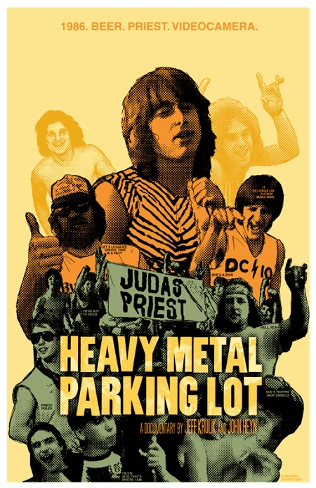 Heavy Metal Parking Lot Documenting The Scene Outside A