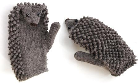 hedgehog-mittens