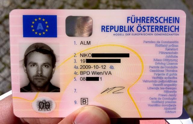 Flying Spaghetti Monster Driver's License