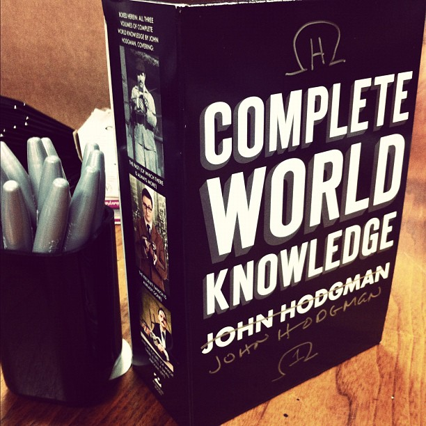 Complete World Knowledge box set by John Hodgman