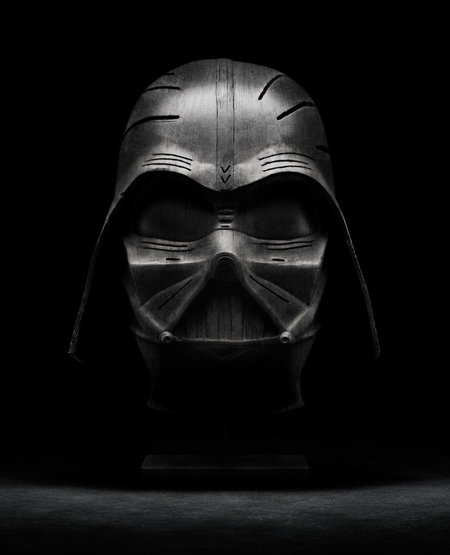 Holly Wood (Darth Vader) by Tony and Emmanuelle Lugand