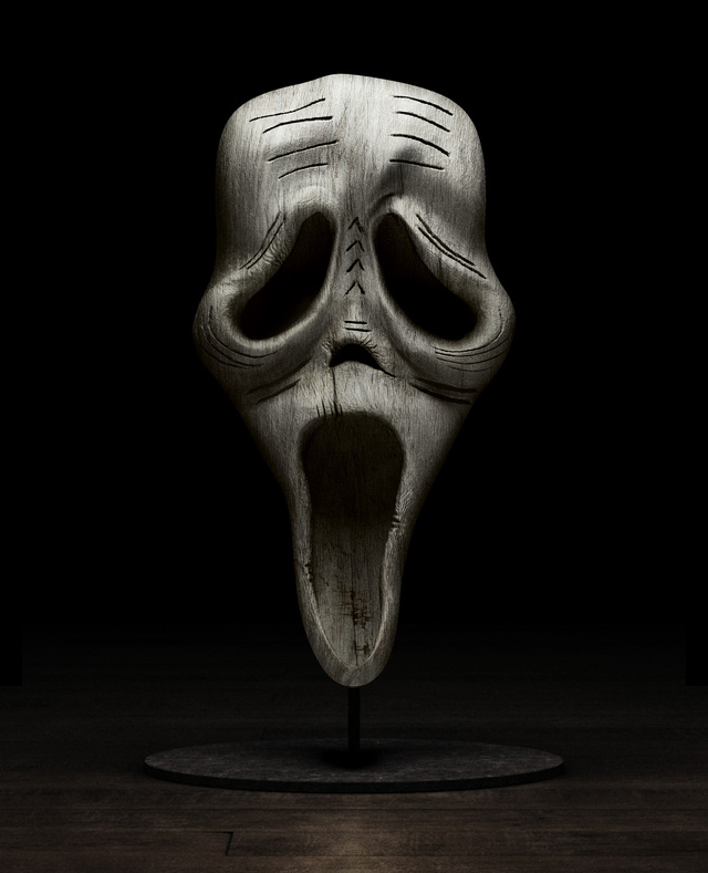 Holly Wood (Scream) by Tony and Emmanuelle Lugand
