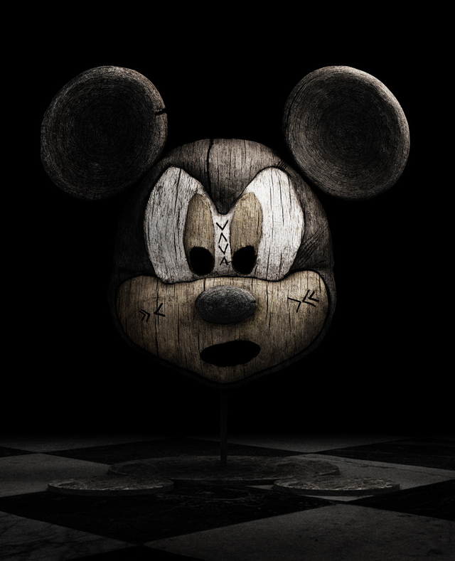 Holly Wood (Mickey Mouse) by Tony and Emmanuelle Lugand