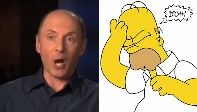 Dan Castellaneta Explains His Inspiration For The Homer Simpson D'oh!