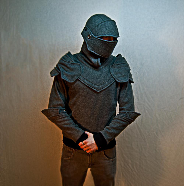Suit of Armor Knight Hoodie