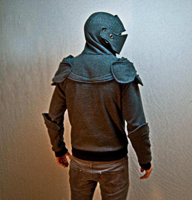 Suit of Armor Hoodie