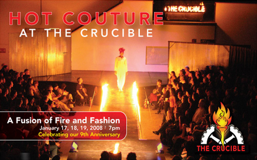 Hot Couture: A Fusion of Fire & Fashion at The Crucible