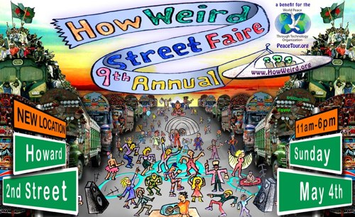 9th Annual How Weird Street Faire