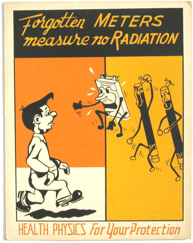Radiation Safety Posters from 1947