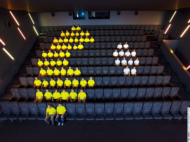 Human Pac-Man Performance