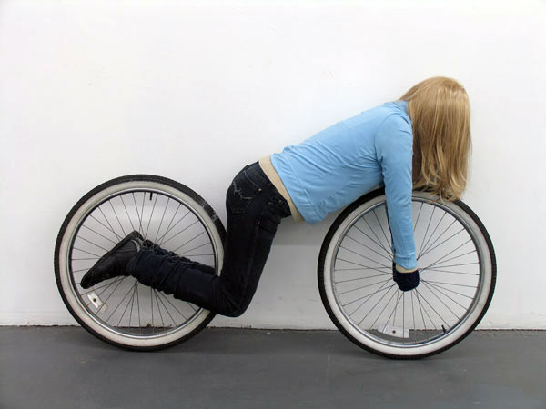 Hilariously Twisted Mannequin Sculptures by Mark Jenkins