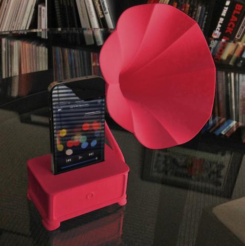 iVictrola Gramophone by Schreer Design