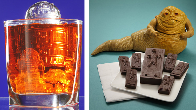 Star Wars Themed Ice Cube & Candy Trays