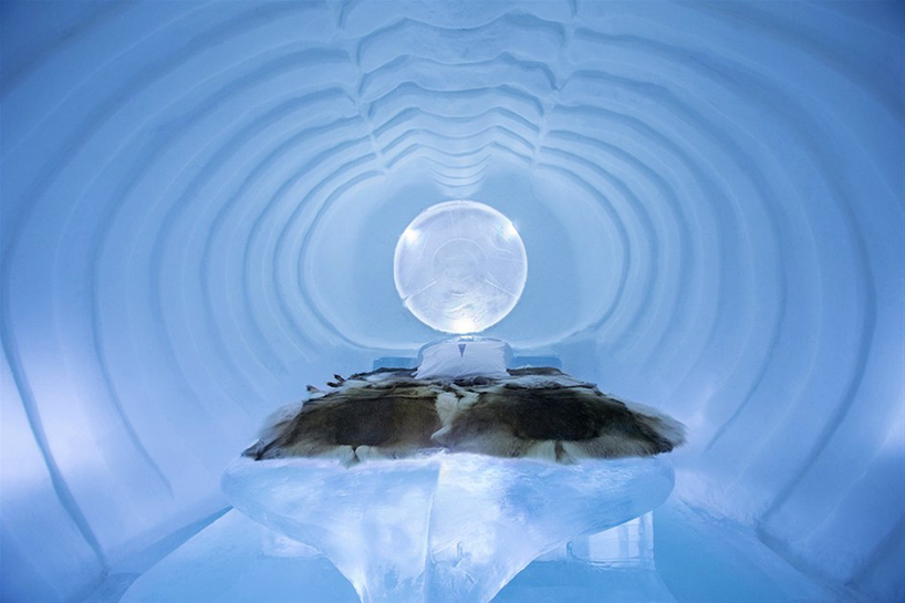 ICEHOTEL, The World's Largest Hotel Made of Ice