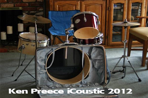 Ludwig Junior Suitcase Drum Kit by Ken Preece