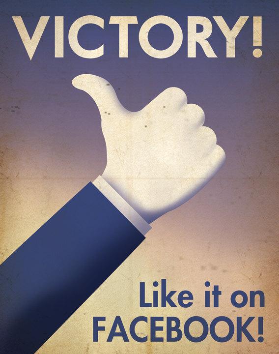 Tech Company War Propaganda Posters