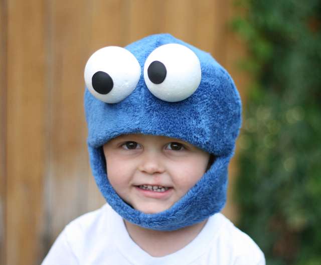 Cookie Monster Mask by JustZipity