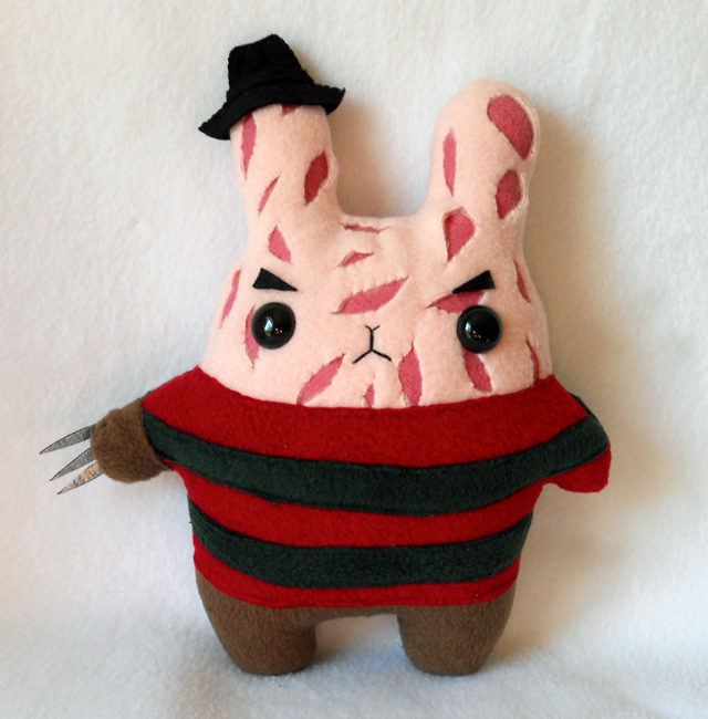 Bunny Krueger Plush by Michelle Coffee