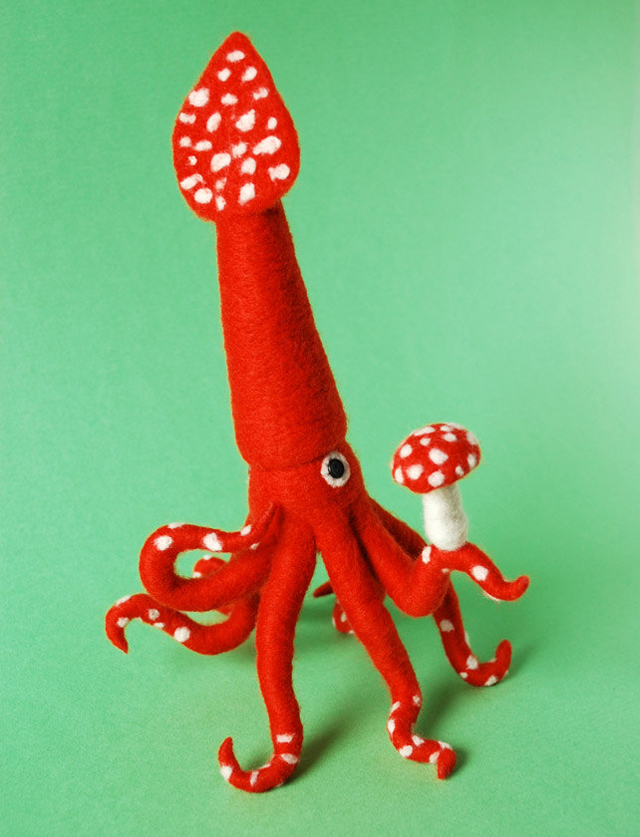 Forest Squid by Hine Mizushima