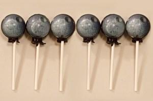 Star Wars Inspired Death Star Lollipops