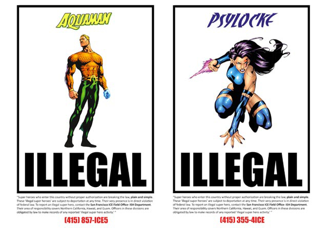 Illegal Super Heroes by Neil Rivas