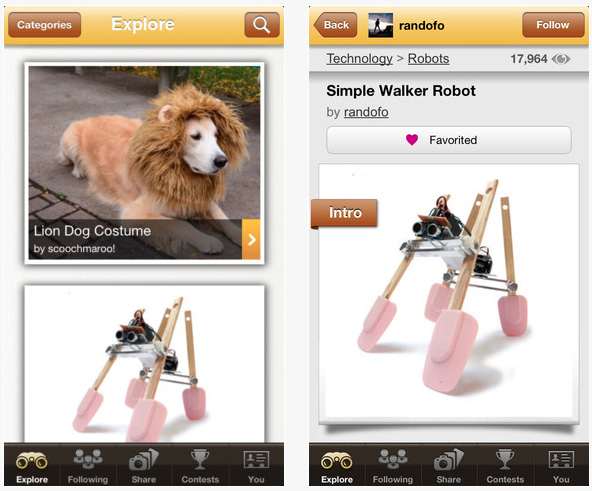 Instructables Releases App For Iphone Ipad